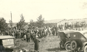 Auction or gathering 1926