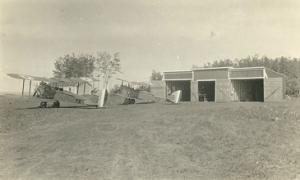 Grande Prairie airport 1927